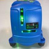 La cruz verde de Vh88 Danpon alinea el nivel del laser