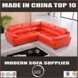 Wohnzimmer-Sofa der Qualitäts-2017 mit echtem Leder