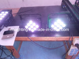 212*F5mm RGB/186LED*10mm СИД Plat свет РАВЕНСТВА с батареей 5-6hours