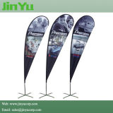 2.7m Alumínio Custom Teardrop Flag Banner Pole Kits