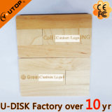회전대 가구 선물 (YT-3132)로 나무로 되는 카드 USB 섬광 드라이브