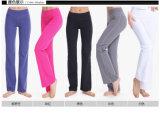 Breite Trouses weiche Abnützung-Qualitäts-Frauen-Yoga-Gamaschen