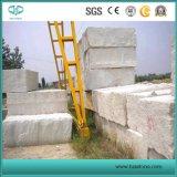 De witte Tegels van het Zandsteen/Plakken/Stappen/Stootborden/muur-Bekleding voor BuitenDecoratie