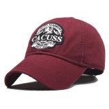 선전용 구성된 자수 야구 모자