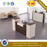 Konkurrenzfähiger Preis-Melamin-Zelle-Büro-Empfang-Schreibtisch (HX-5N446)