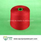Hilo de coser de poliéster de 100 pct / hilo de color