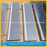 Mattonelle grige scure Polished poco costose del granito di G654 Padang per la pavimentazione/parete