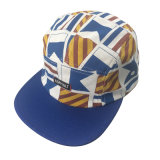 多彩なデザイン5パネルの帽子の綿のキャンピングカーの帽子