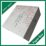アートペーパーの上塗を施してあるボール紙のギフト用の箱