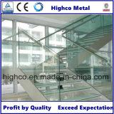 Glashalter für Edelstahl-Handlauf-System und Balustrade