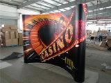 Poteaux en aluminium Panneaux ABS en PVC Exposition droite Pop up Stand Display
