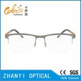 Telaio dell'ottica di Eyewear di vetro di titanio Semi-Senza orlo leggeri del monocolo (8111)