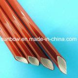 Manicotto resistente a temperatura elevata della vetroresina del silicone
