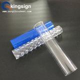 Prix acrylique clair en plastique de tube