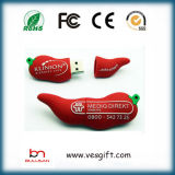 Promoção Presente Pendrive 100% Custome macio PVC USB Flash Drive