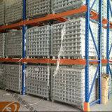 Cremalheira de aço do armazém da economia do espaço para o armazenamento da pálete