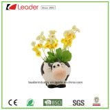 Flowerpots черепахи сада Polyresin малые для домашнего украшения