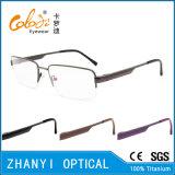 Qualität Halb-Randlose TitanEyewear Brille-Glas-optischer Rahmen (8410)