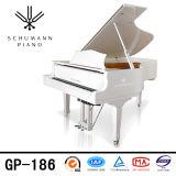 Instruments de musique blancs de piano à queue de Schumann (GP-186)
