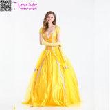 Beleza de luxo feminina e Traje de festa da princesa da fera L15517
