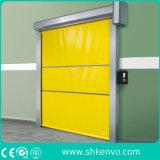 Дверь Штарки Ролика Ткани PVC Высокоскоростная для Фармацевтической Фабрики Снадобья