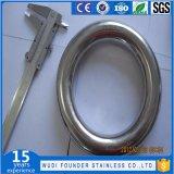 リングのあたりで溶接されるステンレス鋼SS304かSs316