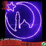 Luna de la estrella de Ramadan formada para el festival de Eid