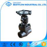 Aço de carbono industrial ASME B16.5 Válvula de porta