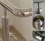 手すり階段のためのガラス柵の結合者