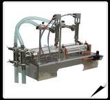 Máquina de etiquetado semi automática de la máquina de rellenar del cartón del ladrillo del jugo