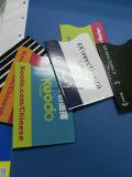 Informação que protege o suporte de cartão duro do plástico RFID