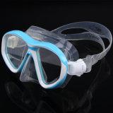 Doppia mascherina antinebbia di immersione subacquea dell'obiettivo