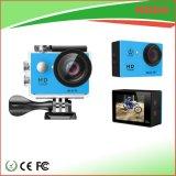 Mini cámara impermeable de la acción del deporte DV del casco de Digitaces