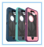 Anti coperchio di caso della protezione della difesa della polvere del telefono mobile tre per il iPhone 7 più