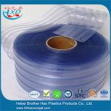 Rideau en plastique en cristal froid industriel en porte à lamelles de PVC de dépoussiérage