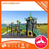 Cour de jeu extérieure de matériel de Chambre de glissière de jeu de gosses de série de moulin à vent à vendre