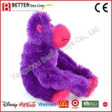 Brinquedo macio colorido personalizado do gorila do luxuoso dos animais enchidos