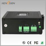 Porta de 8 pontos de entrada e interruptor industrial do Ethernet de um Fx de 2 gigabits