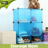 Lamellenförmig angeordneter Plastikschuh-Organisator-Ablagekasten für Schlafzimmer