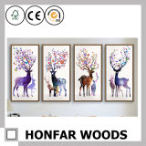 2017 New Arrival Elk Art Canvas Prints para Home Decor