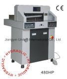 cortador de papel hidráulico y programable de 480HP