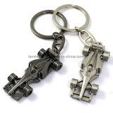 Forma Keychain do carro de metal da promoção da alta qualidade