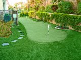 Kunstmatig Gras, uit het Modelleren van de Deur de Decoratie van de Tuin van het Gras