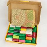 Kit del ricamo del filato per maglieria per DIY
