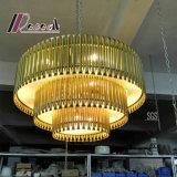 Colgante decorativo del metal/lámpara colgante para el proyecto del hotel