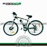 Bicicleta eléctrica con motor sin escobillas