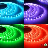 la tira RGB los 5m de 12V 5050 SMD LED los 60LEDs/M flexibles impermeabiliza