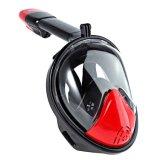 Smaco 180 het Panoramische Volledige Ontwerp van het Gezicht met Mist anti-Lek snorkelt Masker