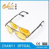 Óculos de sol coloridos do metal da forma para conduzir com Lense Polaroid (3025-C6)