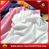 T-shirt fait sur commande de polo d'impression d'écran de coton de qualité pour les hommes du collet rond